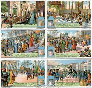 Chromo Liebig Sang. 1254 ITA Scene Storiche di Venezia ANNO 1931