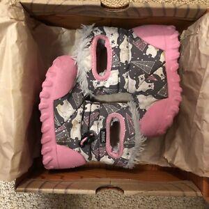 Bogs K Moc Girls Winter Boots - Kids toddler size 7
