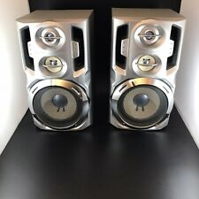 Pioneer Speakers Twin Bass Reflex Speaker System 2 Speakers Tested And Working!