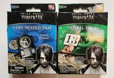 Criss Angel Mind Freak Magic Kit Set *2 PACK* Mental Freak Coin Nested Trap NEW
