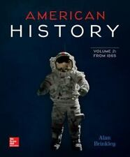 American History Volume 2 with 1-Semester Connect Access Card by Brinkley, Alan