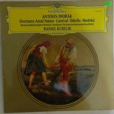 Dvorak: Overtures. Rafael Kubelik/Bavarian Radio Symphony Orchestra DG 2530 785