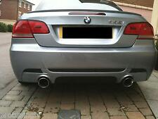 M Performance SET BMW E92 E93 335 335i Rear diffuser Spoiler tail pipes exhaust