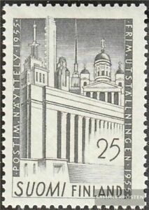 Finland 438 (complete issue) with hinge 1955 Stamp Exhibition