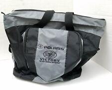 Polaris Victory Motorcycle Travel Satchel Canvas Shoulder Bag  Embroidered Logo