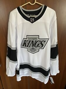 Adidas Authentic LA Kings Retro Heritage Jersey Size 52 Large Drew Doughty