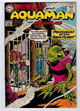 SHOWCASE #33 6.5 AQUAMAN 1961 OFF-WHITE PAGES