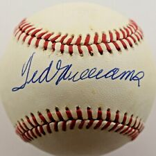 Ted Williams signed Baseball auto JSA LOA mlb Red Sox hof