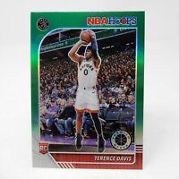 2020 NBA Hoops Premium Terence Davis RC Green Prizm