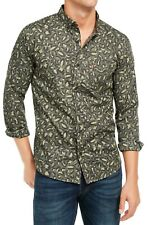 Levi's Mens Shirt Olive Night Green US 2xl Omark Printed Button Down 178