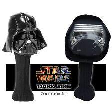 Golf Head Cover 2pc Star Wars Headcover 460cc Driver Set - Darth Vader Kylo Ren