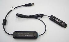 Plantronics DA45M D261N/DA45 6-pin QD USB for HW510D HW520D HW710D HW720D to PC