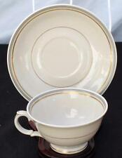 "Vintage 1932-1949 ARABIA Made in Finland SUOMI Beige Set 2 1/4""h Cup & Saucer"