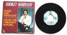 "SMOKEY ROBINSON : Food for Thought 7"" 45 SP vinyl Motown 101547 1981"