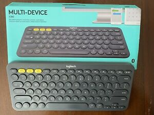 Logitech 920-007558 K380 Multi-Device Bluetooth Keyboard - Grey