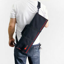 22 Pocket Chef Knife Roll Bag Case Wallet Cutlery School Chef Knife Bag StrapHot
