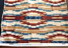 VINTAGE SOUTH WESTERN AZTEC NATIVE NEW-MEXICAN FABRIC UPHOLSTERY 148 x 54 inches