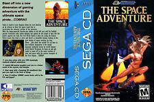 Space Adventure, The CUSTOM SEGA CD CASE (NO GAME)