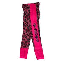 Adidas ORIGINALS Girls Leggings Pink Adidas AI5043 New Authentic