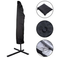 Oxford Patio Outdoor Beach Umbrella Canopy Protective Cover Carry Bag Fit 9-11FT