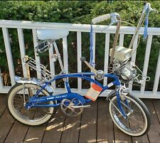 "1968 Schwinn run a bout 3 speed 16"" muscle bike RUNABOUT  n blue s2 s7 midget 68"