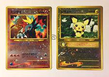 Pokemon Entei 244 Pichu 172 Neo 2 Promo Holo Reverse MINT