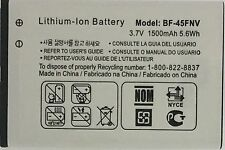 Replacement Battery for MetroPCS LG Esteem MS910  BF-45FNV 1500mAh