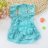 1PC Pet Skirt Soft Portative Lightweight Durable Dog Dress for Small Pets Puppy