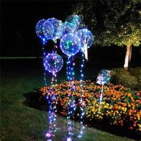 LED Light Transparent Balloon Wedding Birthday Xmas Party Lights Decoration Hot