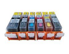 6 refillable ink cartridge for Canon PGI-225 CLI-226 Gray MG6120 MG8120 MG8220