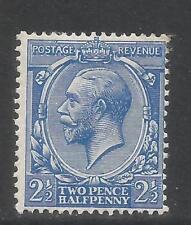 Great Britain 1912-13 King George V 2 1/2p ultramarine (163) Mh