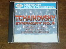 TCHAIKOVSKY Symphony n°4- Francesa da Rimini- LONDON SYMPHONY- CD