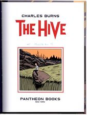 The Hive - Signed by Charles Burns - First Edition Hardcover
