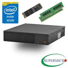 Supermicro SYS-E200-8D Intel Xeon D, 6-Core, 2x10GbE,Mini Server w/ 32G, 256 M.2