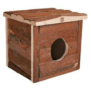 Trixie Natural Living Jerrik Wooden House for Hamster/ Mouse Cages - 15x14x13 cm