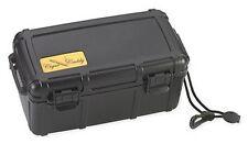 Cigar Caddy - 15 Stick Cigar Travel Humidor - Black