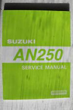 Suzuki Burgman Suzuki Motorcycle Workshop Manuals