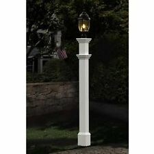 NEW ENGLAND PORTSMOUTH LAMP POST VA99430 DECORATIVE LAMP POST LAMP NOT INCLUDED