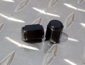 BLACK Valve Caps CBR GSXR R3 R1 R6 FZ8 MT09 MT10 959 1198 ZX10 Z1000 ZX14 675