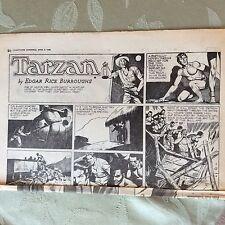 a2b ephemera 1955 comic strip tarzan e r burroughs