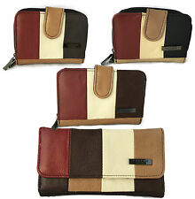 Lorenz Women's Leather Coin Purses & Wallets with Zip-Around
