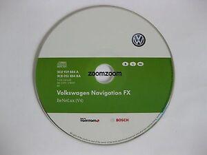 Genuine VW RNS 310 Satnav Navigation CD FX v4 Benelux 2012 SEAT VW SKODA v4 2012