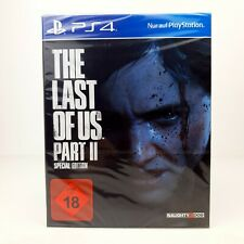 NEU 🎮 THE LAST OF US PART 2 II - SPECIAL STEEL BOOK EDITION ☑️ PLAYSTATION 4