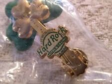 Hard Rock Tampa St Patty's guitar pin, /H combined no additional charge""