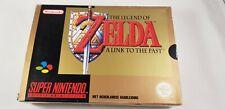 ♕*Super Nintendo * The Legend of Zelda: A Link to the Past * RARE * PAL * SNES *