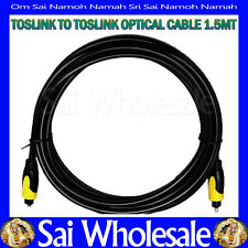 1.5METER Premium Digital Optical SPDIF Fibre Audio Toslink to Toslink Male Cable