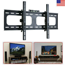"Jumbo Low Profile Fixed Slim TV Wall Mount Bracket For 26""-70"" Inch Flat LED LCD"
