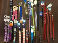 Dog collars, various brands, colors, styles,Some with tags some no tag. Great $