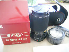 Sigma 80-200mm f/4.5-5.6 Lens for Canon !!!NEW!!!