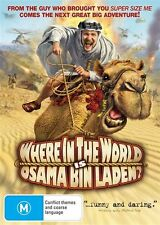 Where In The World Is Osama Bin Laden? (DVD, 2009)EX RENTAL I CAN POST DISC, CAS